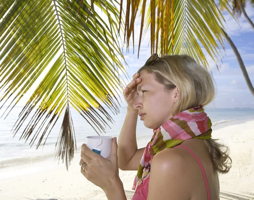 Bild Krank im Urlaub