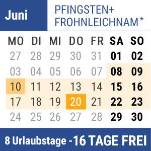 Bild Brückentage Pfingsten + Fronleichnam