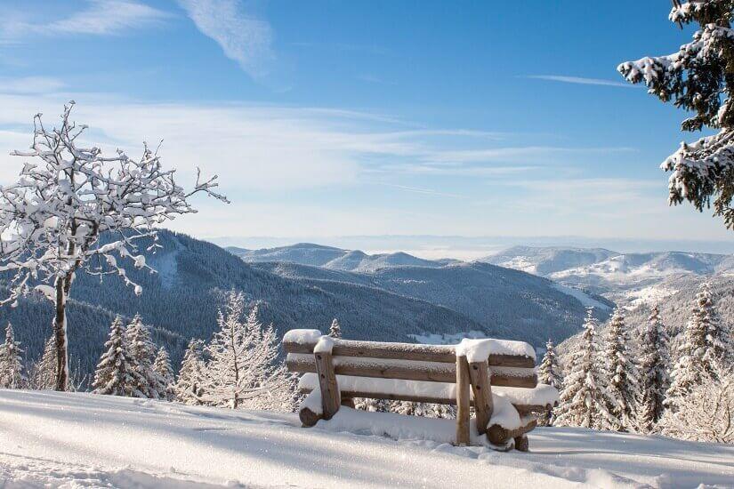 Schwarzwaldpanorama im Winter