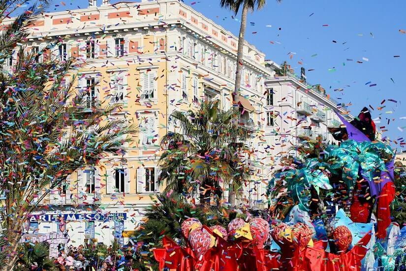 Bild Karneval in Nizza