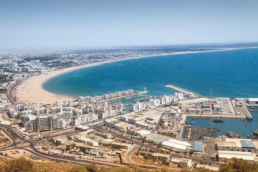Bucht von Agadir