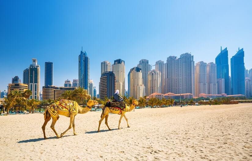 Bild Dubai in den VAE