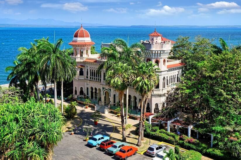 Bild Kultur und Palmen auf Kuba