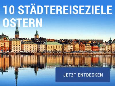 Zehn Städtereiseziele für Ostern