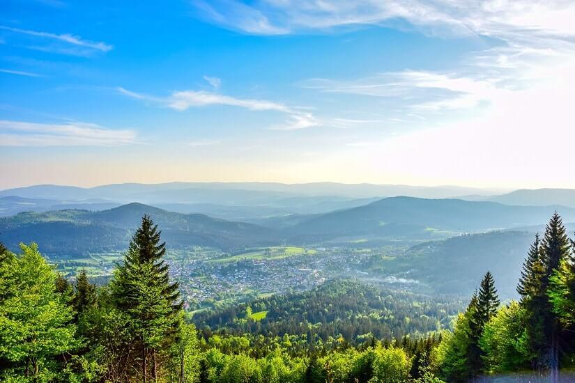 Bild Bayerischer Wald, Aussicht