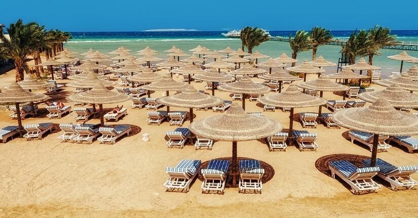 Bild Strand Hurghada, Ägypten
