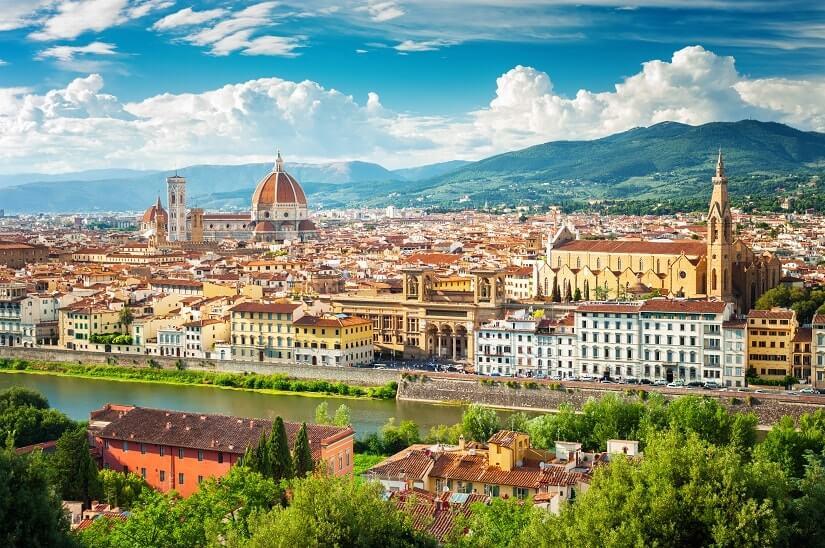 Bild Stadtansicht Florenz, Toskana, Italien