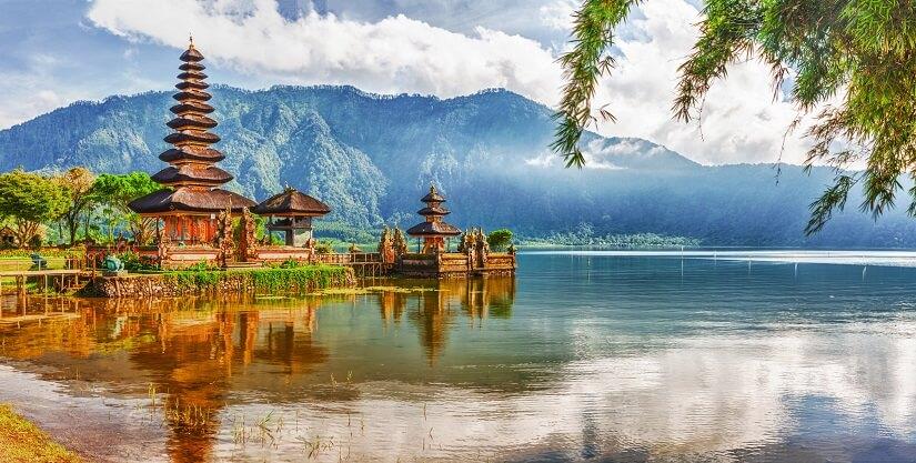 Der Wassertempel Pura Ulun Danu