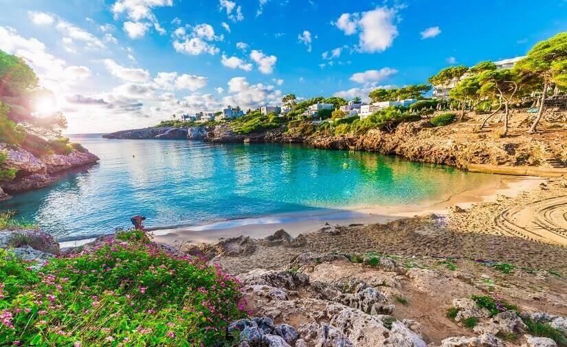 Cala Esmeralda Beach im Südosten Mallorcas