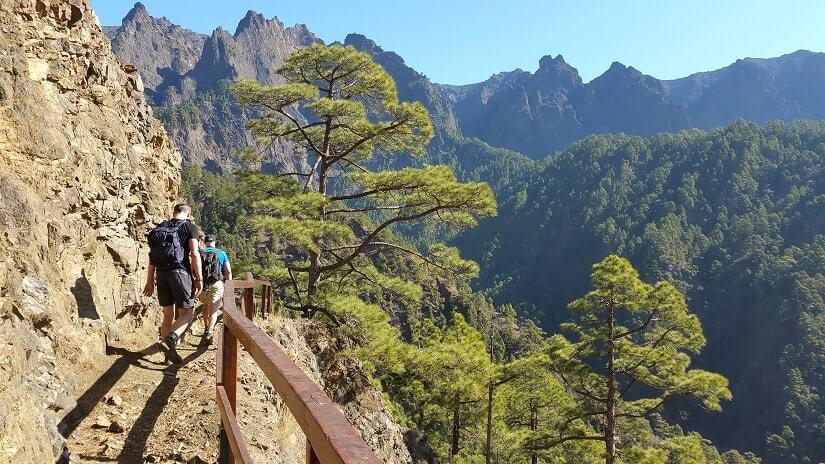 Bild Wandern im Nationalpark Caldera de Taburiente
