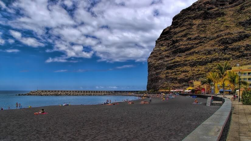 Bild Playa de Tazacorte auf La Palma