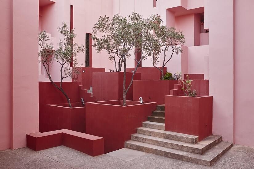 Bild La Muralla Roja in Calp, Spanien