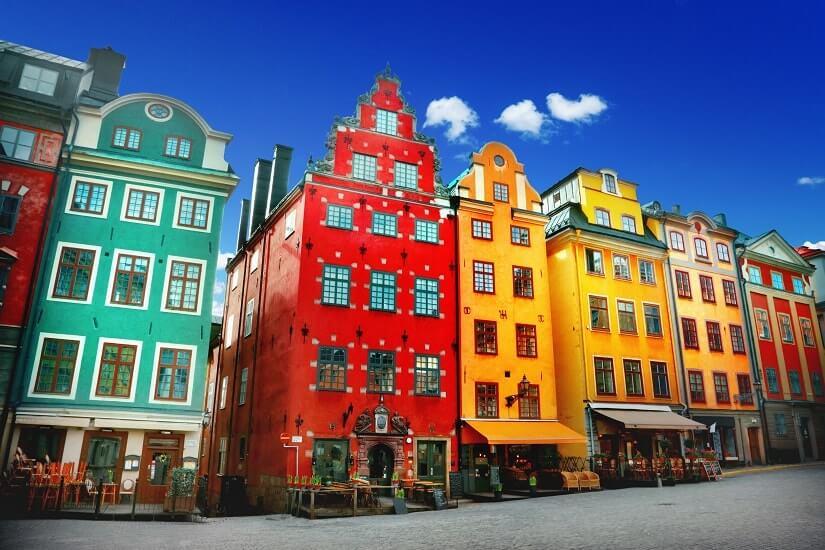 Bild Stortorget in Stockholm, Schweden