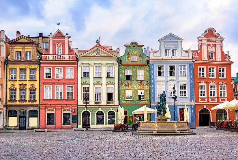 Bild Marktpkatz Poznán, Polen