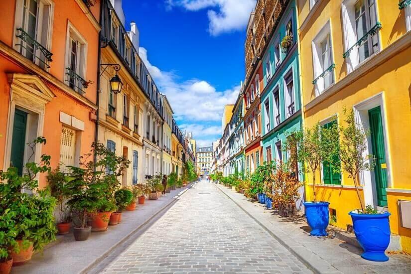 Bild Rue Cremieux, Paris, Frankreich