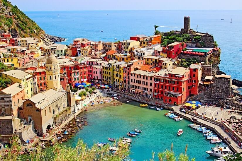 Bild Vernazza, Cinque Terre, Ligurien, Italien