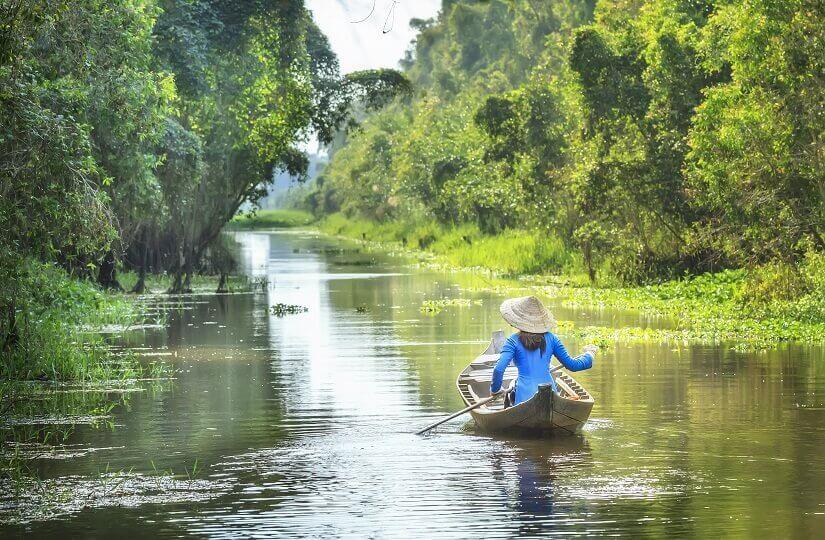 Bild Mekong Vietnam