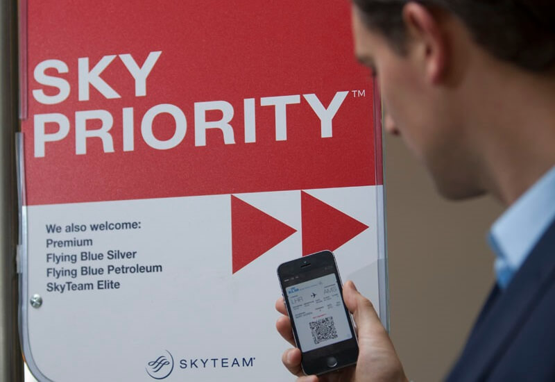 Bild Skyteam Skypriority