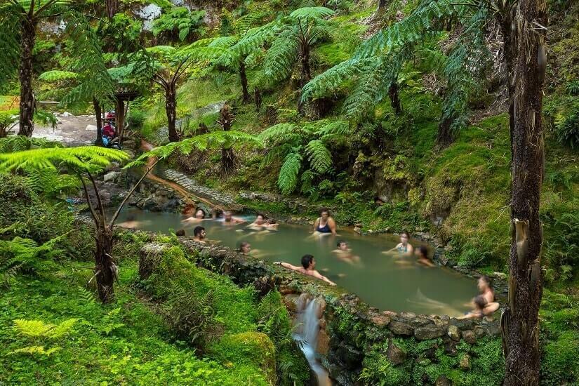 Bild Heiße Quelle auf Sao Miguel, Azoren
