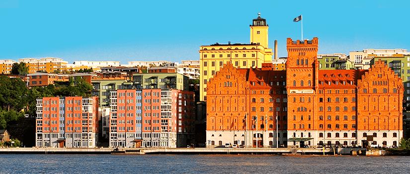 Der Bezirk Södermalm in Stockholm