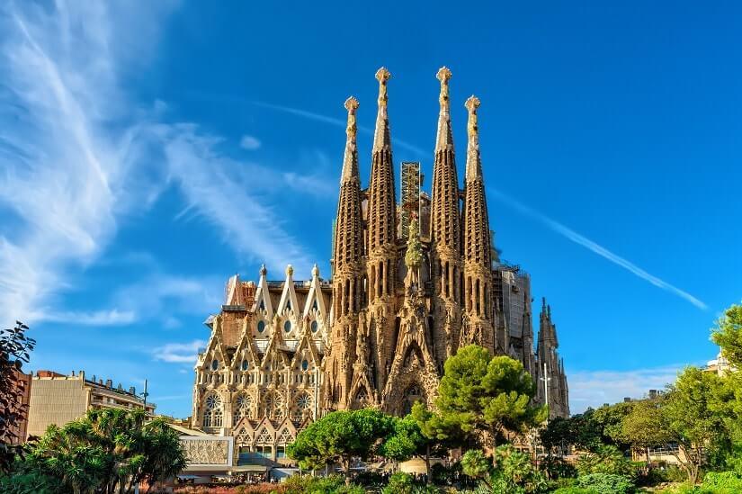 Die Basilika Sagrada Familia