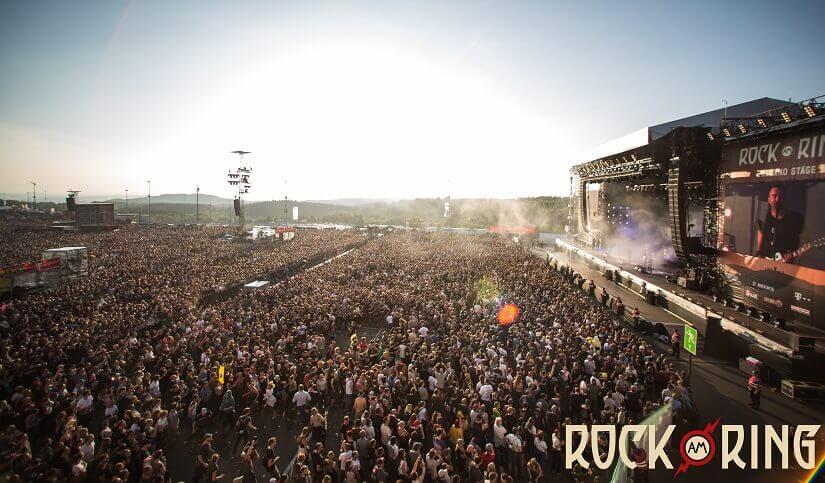 Bild Bühne bei Rock am Ring 2018