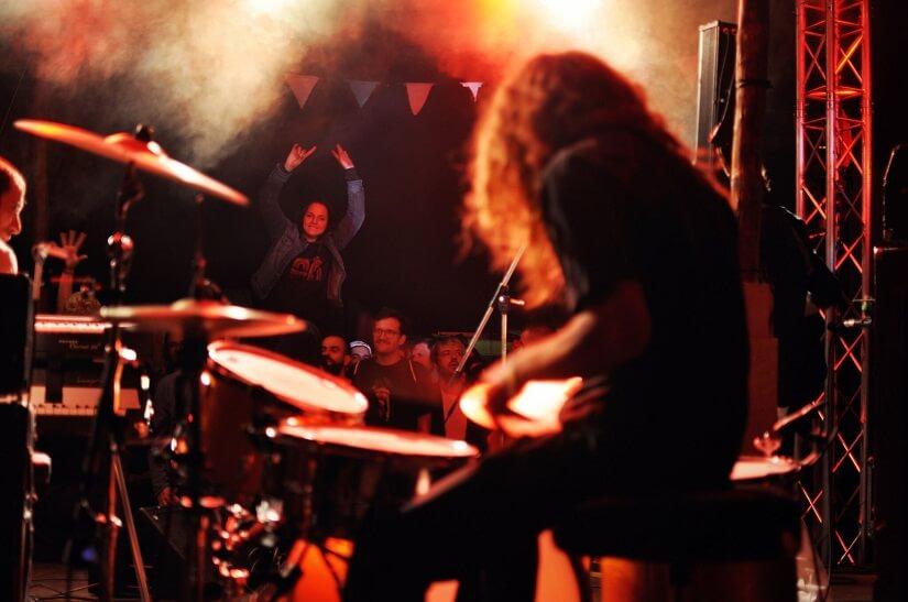 Bild Live Musik beim Immergut Festival