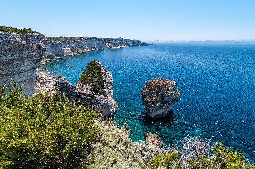 Bild Küste von Bonifacio auf Korsika, Frankreich