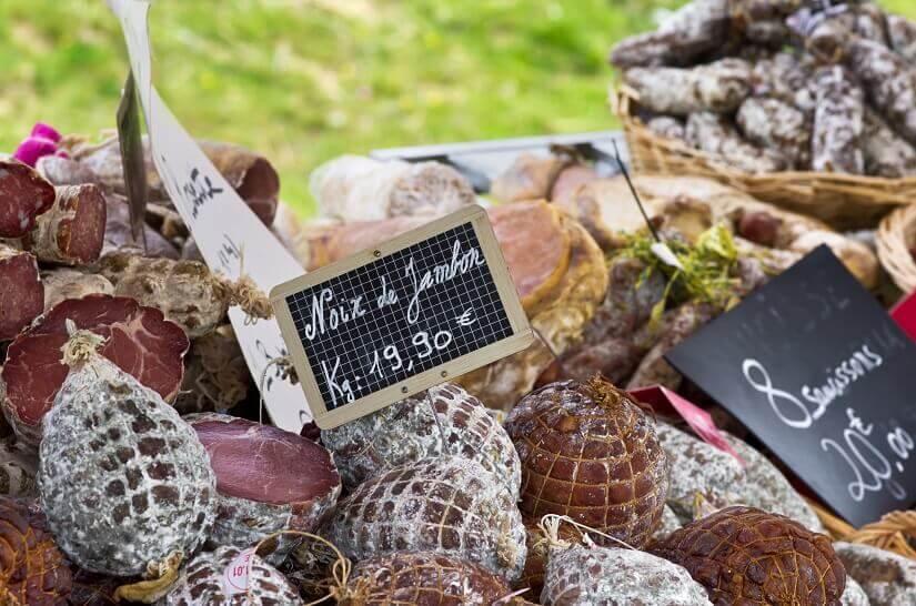 Bild Schinken Spezialität auf Korsika