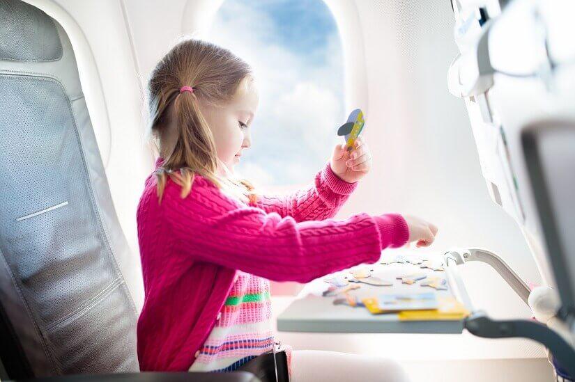 Spiele verkürzen die Zeit im Flugzeug
