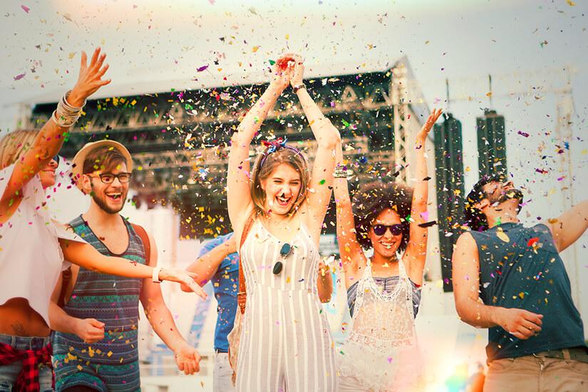 Den Festival-Sommer erleben