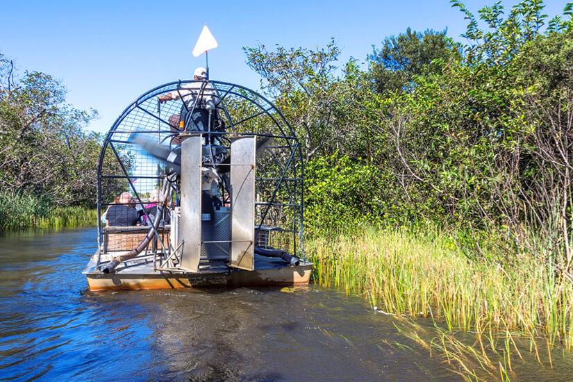 Per Propellerboot durch die Everglades in Florida
