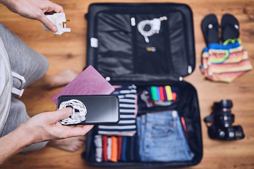 Reisekoffer mit viel Platz