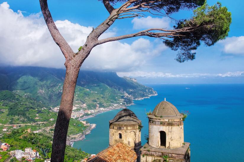 Erkundet die Amalfi Küste