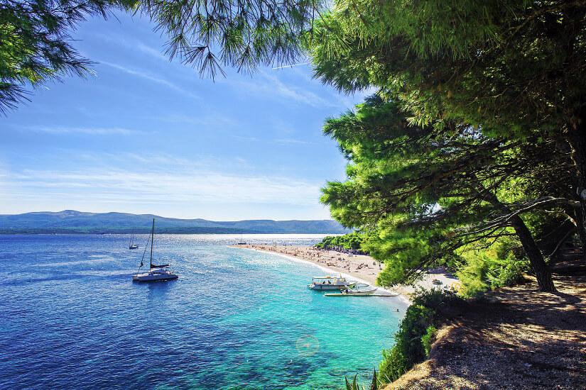Goldenes Horn auf der kroatischen Insel Brac