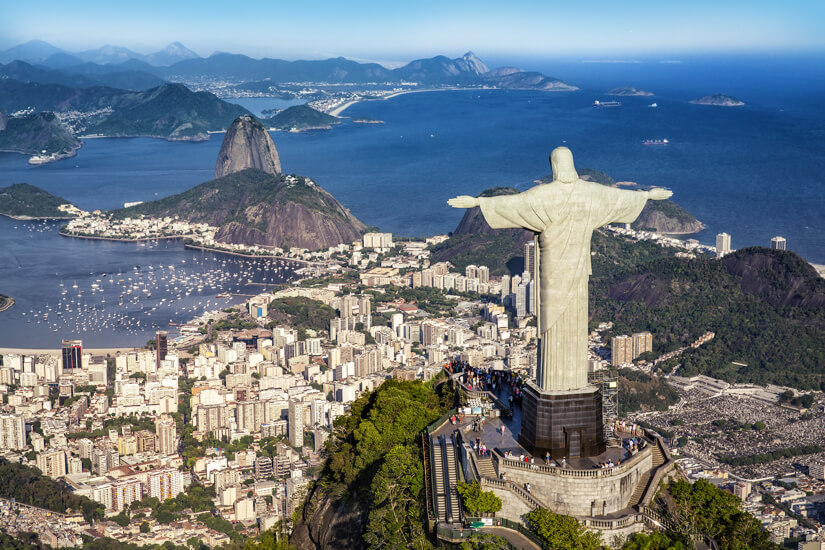 Cristo Redentorwacht über Rio de Janeiro