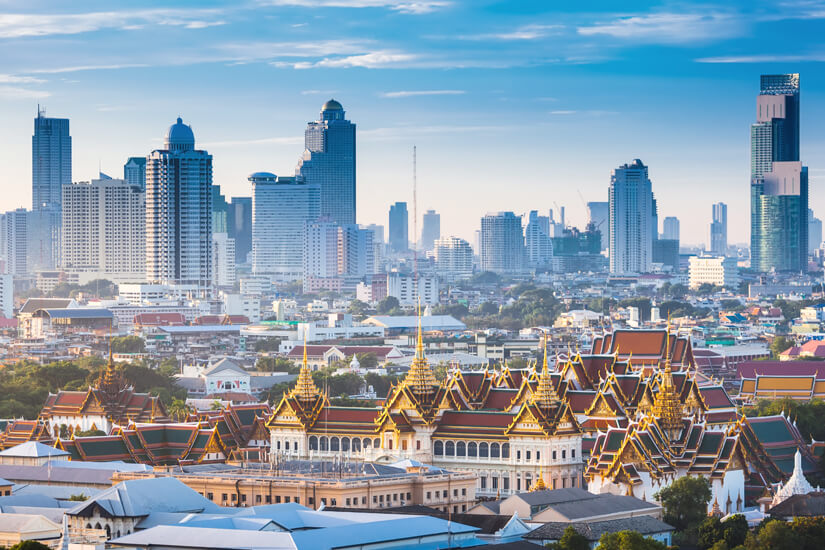 Thailands Hauptstadt Bangkok