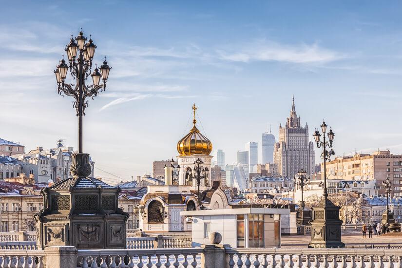 Das prunkvolle Moskau