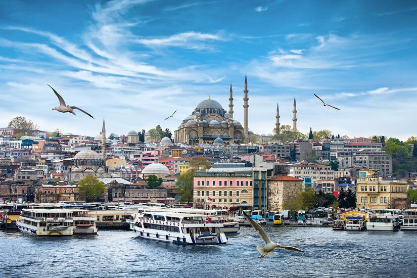Istanbul: Halb Europa, halb Asien