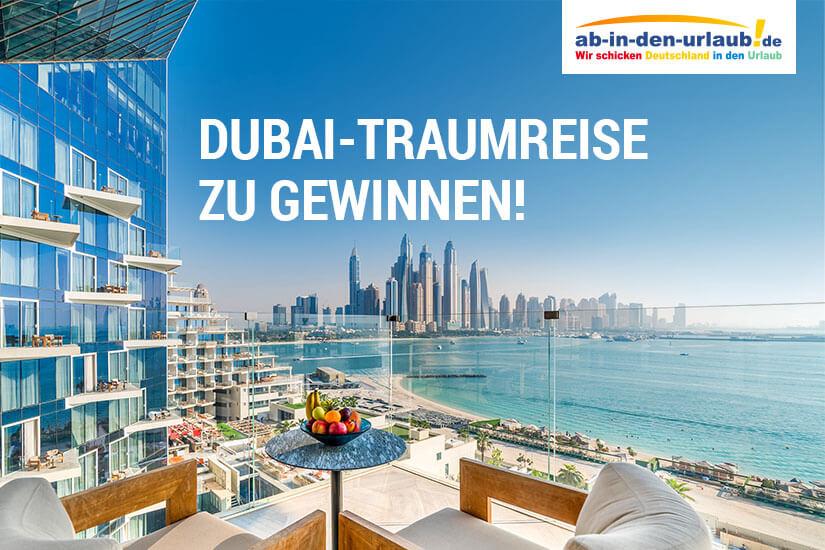 Traumreise nach Dubai zu gewinnen