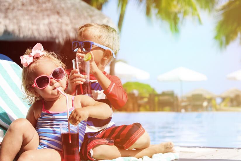Urlaubsfreuden bei den Kleinsten
