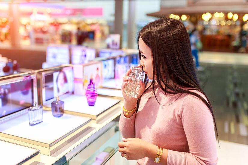 Bei Parfüm lohnt sich der Duty-free-Kauf