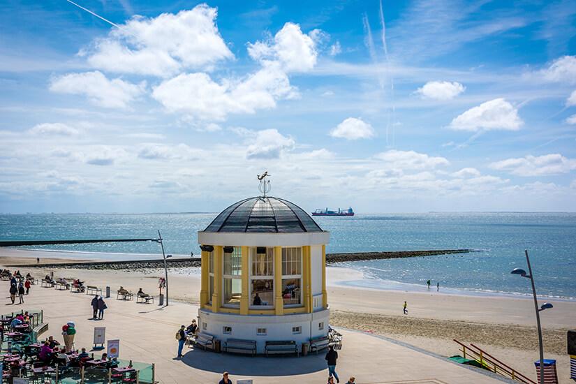 Musikpavillon am Borkumer Strand