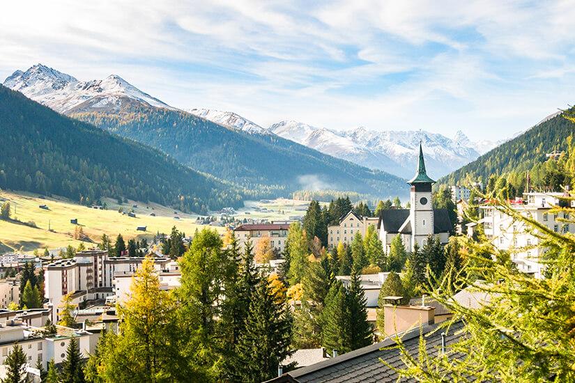 Davos in Graubünden