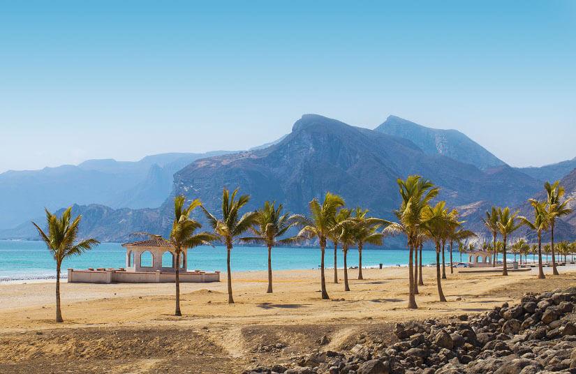 Strand in der Nähe von Salalah