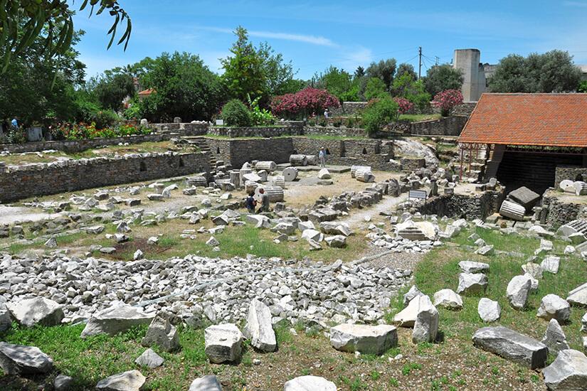 Mausoleum in Bodrum