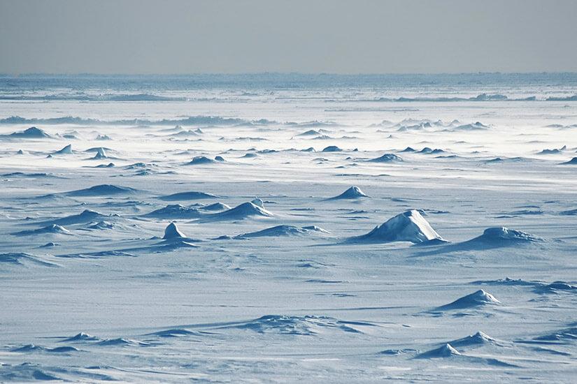Eiswüste Antarktis
