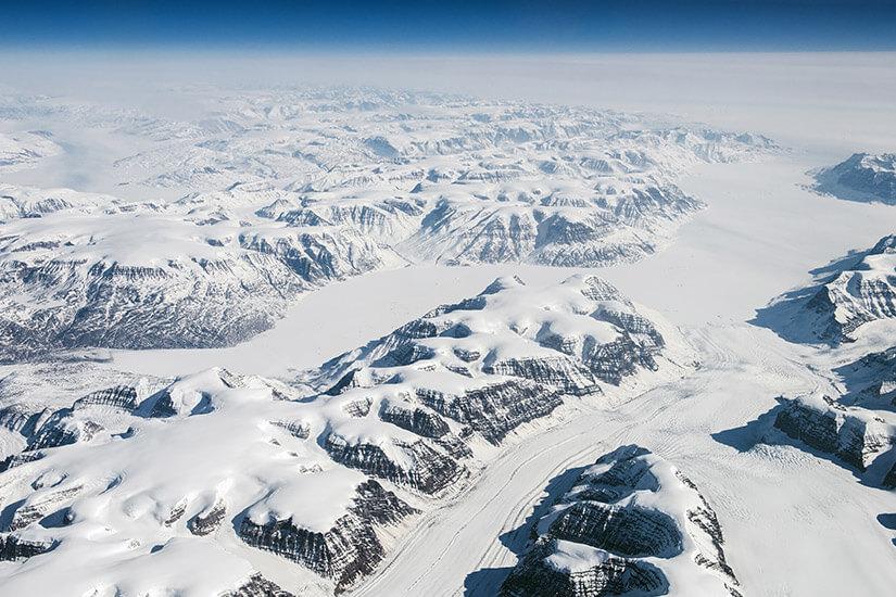 Eiswüste Grönland