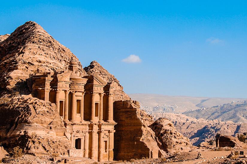 Jordanien und die Felsenstadt Petra