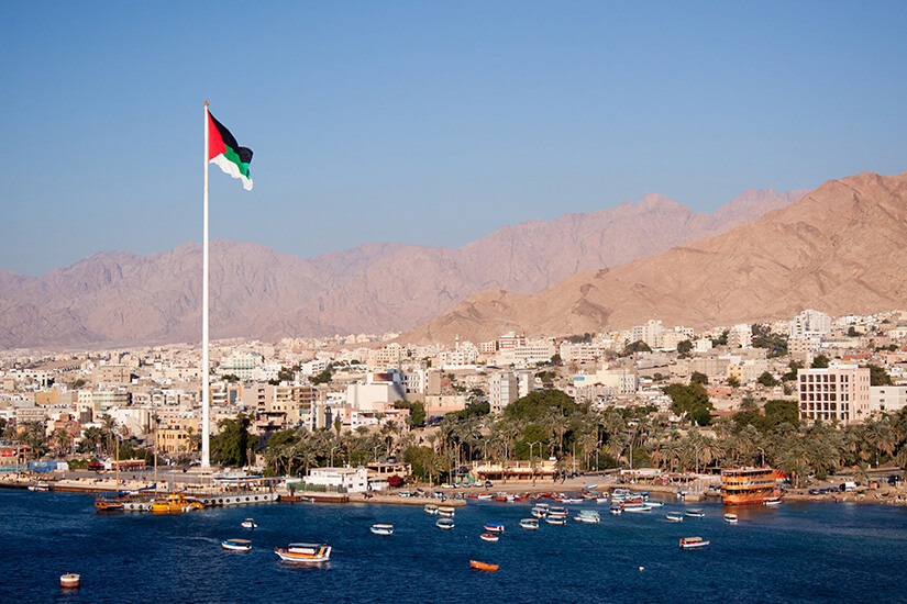 Rotes Meer in Aqaba